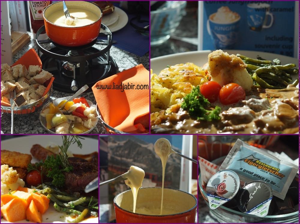 makanan jungfraujoch