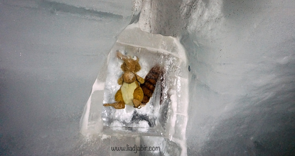 ice palace jungfraujoch